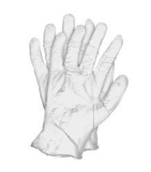 Rękawice diagnostycze winylowe pudrowane RVIN-W