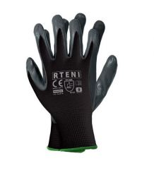 Rękawice ochronne powlekane nitrylem RTENI BS