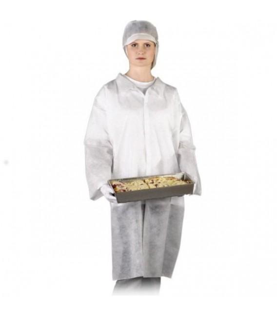 Fartuch laboratoryjny z polipropylenu
