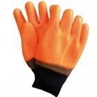 Rękawice powlekane PCV fluorescencyjne RFREEZER-S