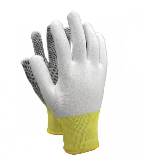 Rękawice z poliestru z mikronakropieniem z PCV RTENA