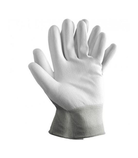 Rękawice z nylonu, powlekane poliuretanem RnyPu