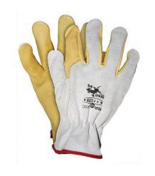 Rękawice skórzane z wysokiej jakości skóry bydlęcej RLCS++ 10,5