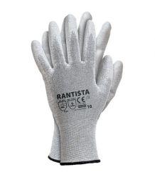 Rękawice antyelektrostatyczne, powlekane poliuretanem RANTISTA