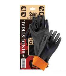 Rękawice z gumy z przedłużonym mankietem kwasoodporne RINDUSTRIAL dł. 35 cm i 45 cm
