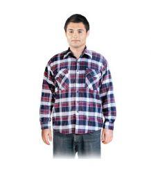 Koszula z wysokiej jakości flaneli KFLUX jesienno – zimowa