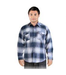 Koszula z wysokiej jakości flaneli KFLUX jesienno-zimowa