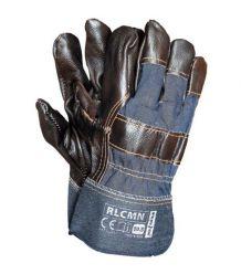 Rękawice wzmacniane skórą bydlęcą RLCMN
