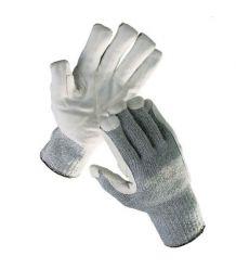 Rękawice przeciwprzecięciowe wzmacniane skórą CROPPER STRONG
