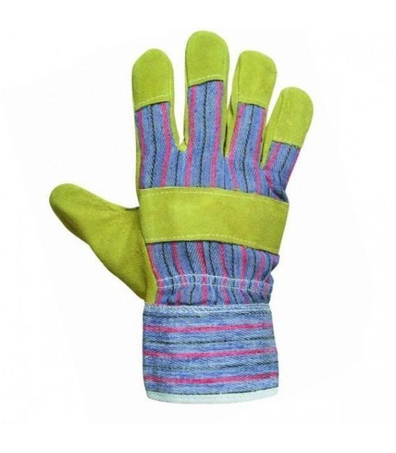 Rękawice wzmacniane skórą bydlęcą TERN