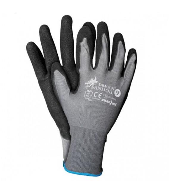 Rękawice z nylonu, powlekane nitrylem SANDOIL