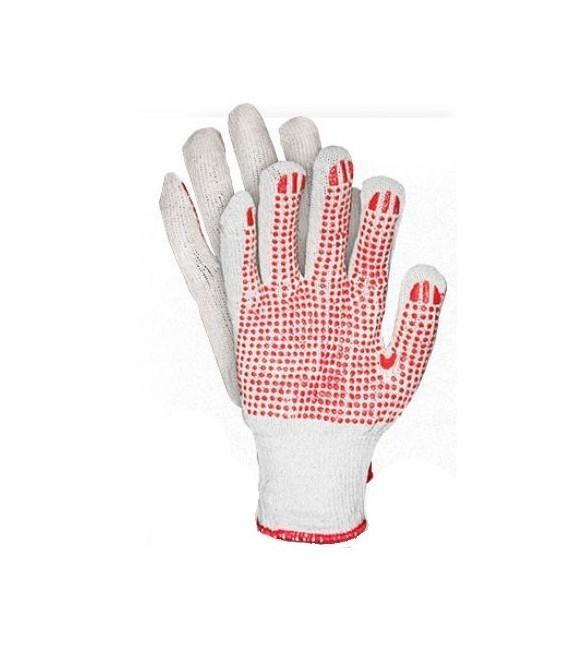 Rękawice ochronne z jednostronnym nakropieniem RDZN_NATU