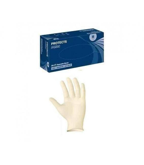 Rękawice lateksowe Protects Hygienic latex 200 szt.