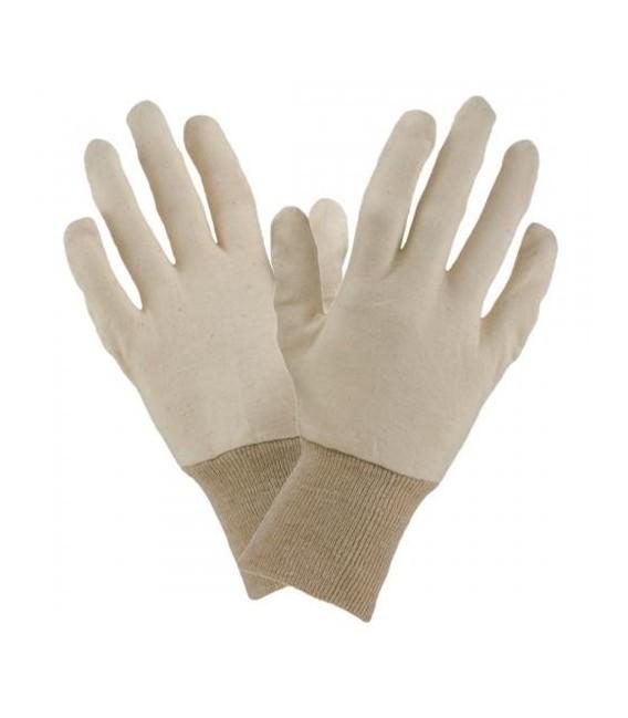 Rękawice wkłady wykonane z bawełny