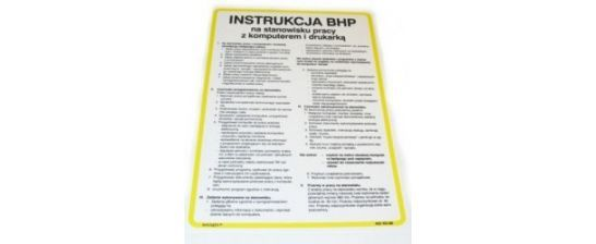 Zasady BHP w pracy