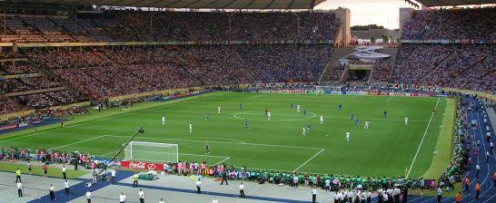 Hałas podczas meczu piłkarskiego