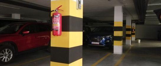 Bezpieczeństwo pożarowe w podziemnym garażu
