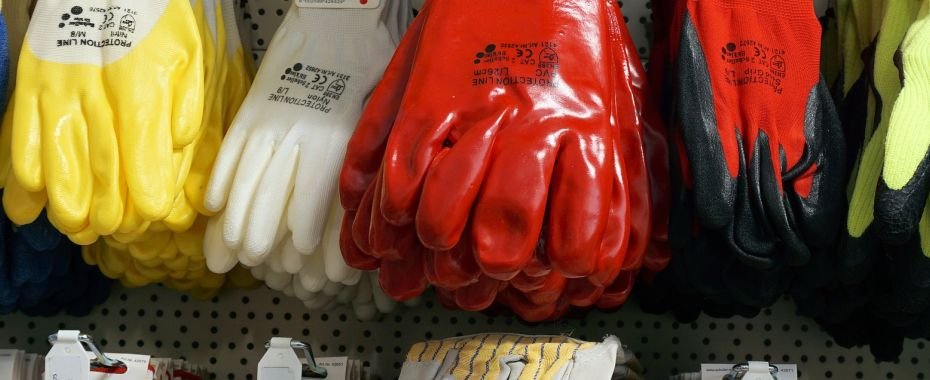 Kategorie rękawic ochronnych
